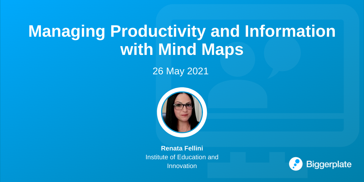 Managing Productivity and Information with Mind Maps