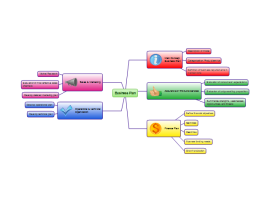 Strategic Business Plan Mind Map